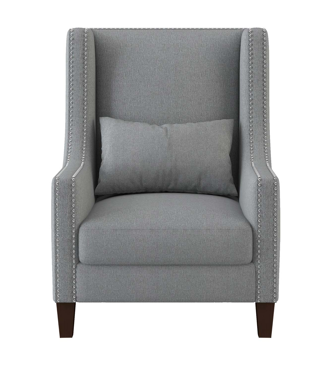 Homelegance Keller Accent Chair - Light gray