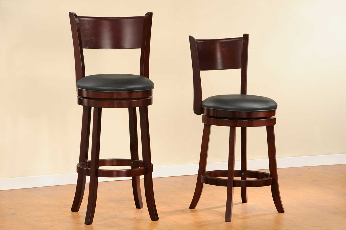 Homelegance Shapel 1136 Swivel Counter Height Chair