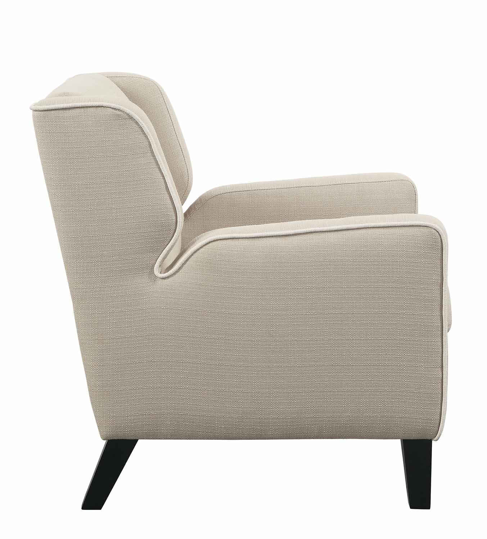 Homelegance Roweena Chair - Beige