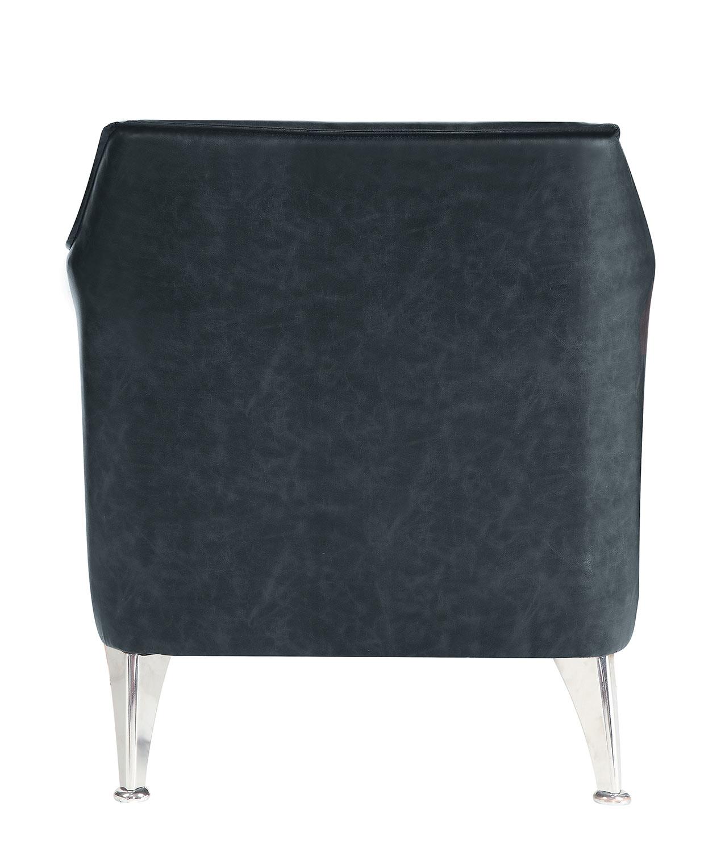 Homelegance Basseri Accent Chair - Dark Gray