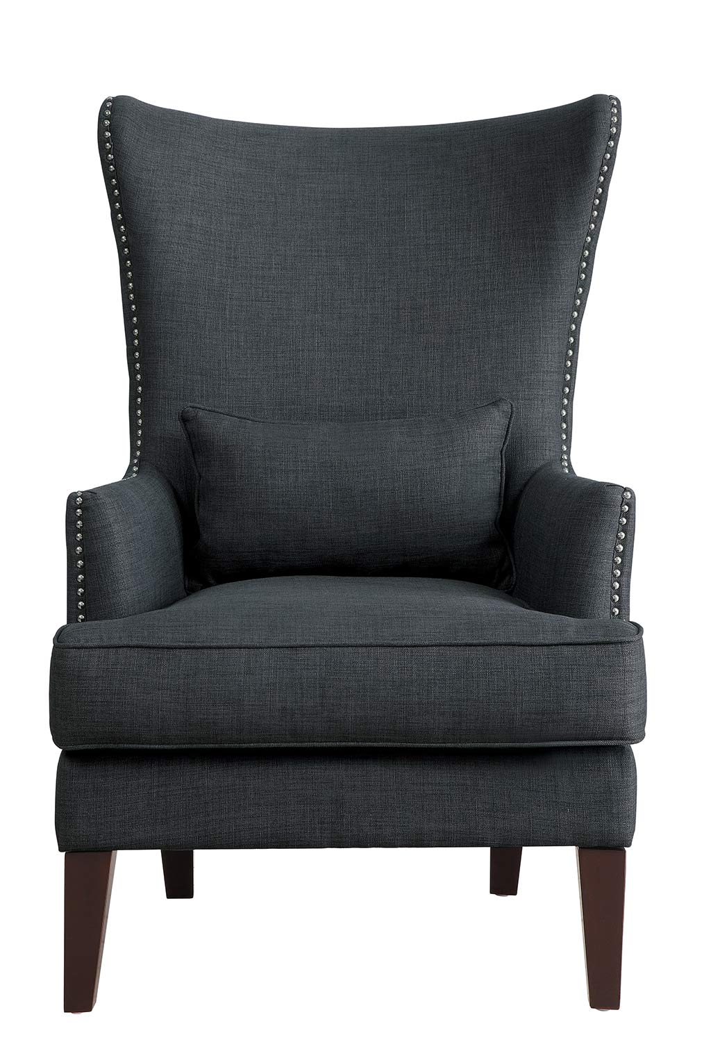 Homelegance Avina Accent Chair - Charcoal