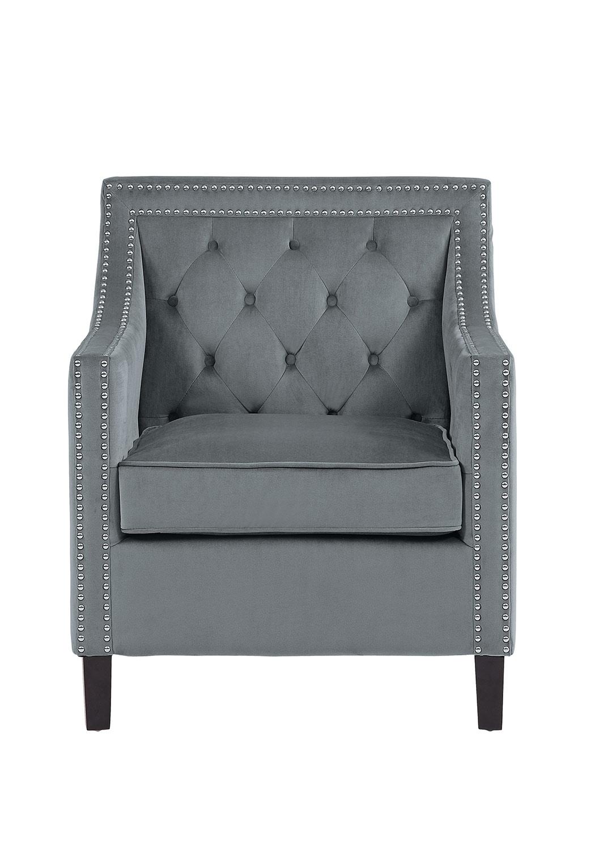 Homelegance Grazioso Accent Chair - Gray