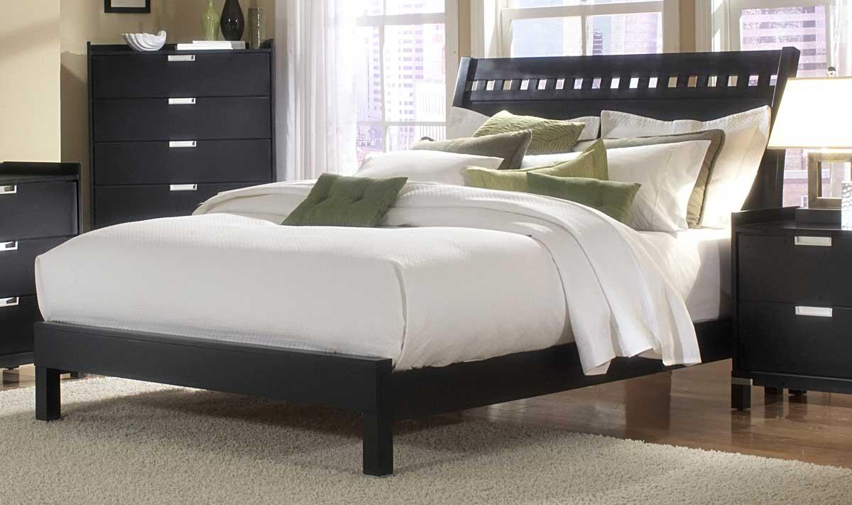 Homelegance Bella Bed in Black