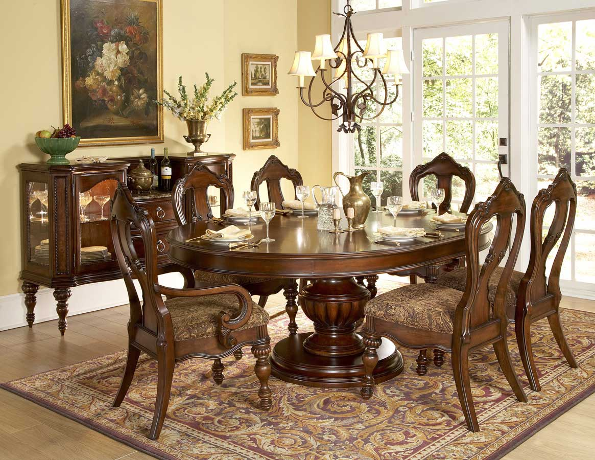 Round Dining Table Furniture Nice Home Decoration Interior