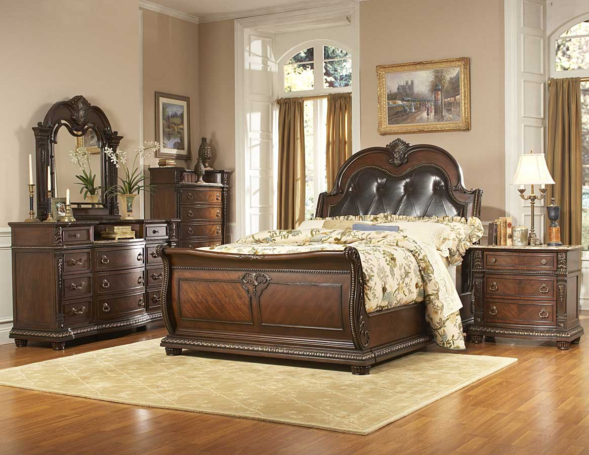 Homelegance palace bedroom collection special bed set