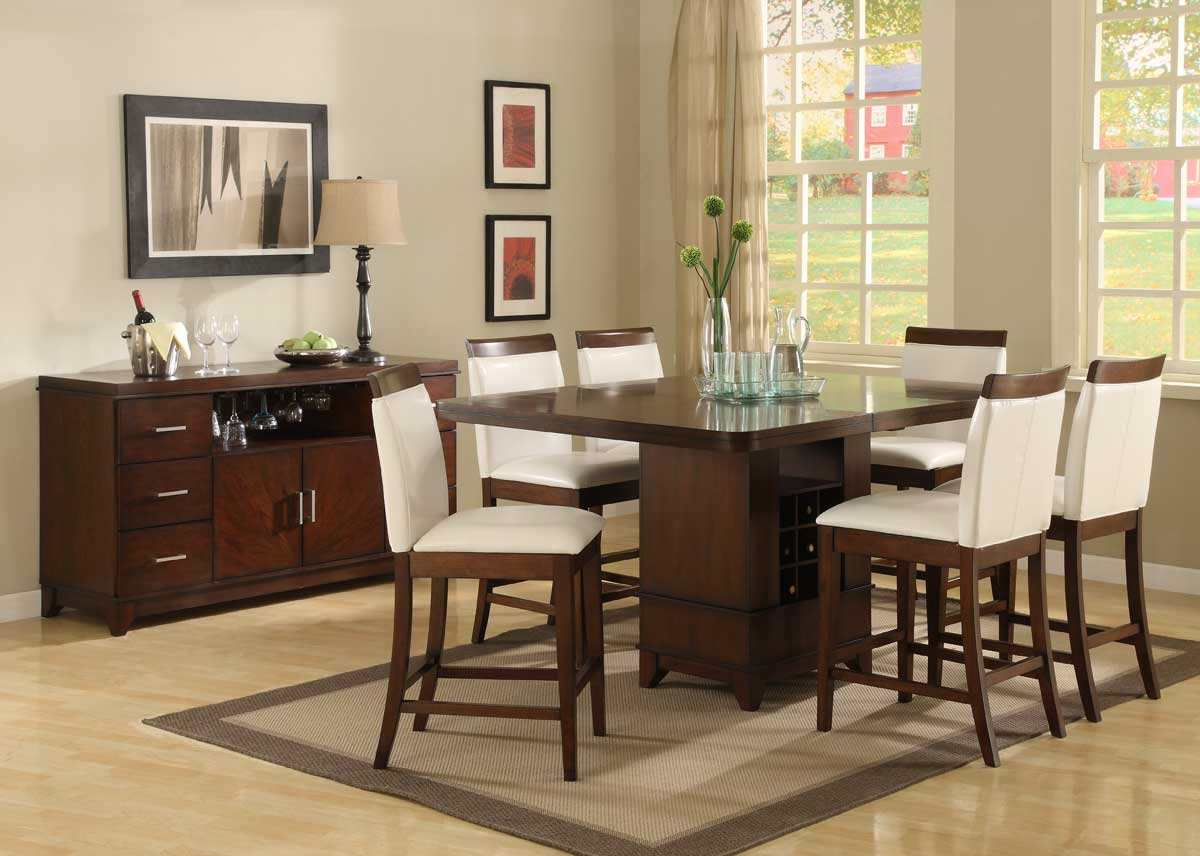 Dining Room Set Counter Height 9 Pc Counter Height Dining Set Re Re De Counter Height Dining Set