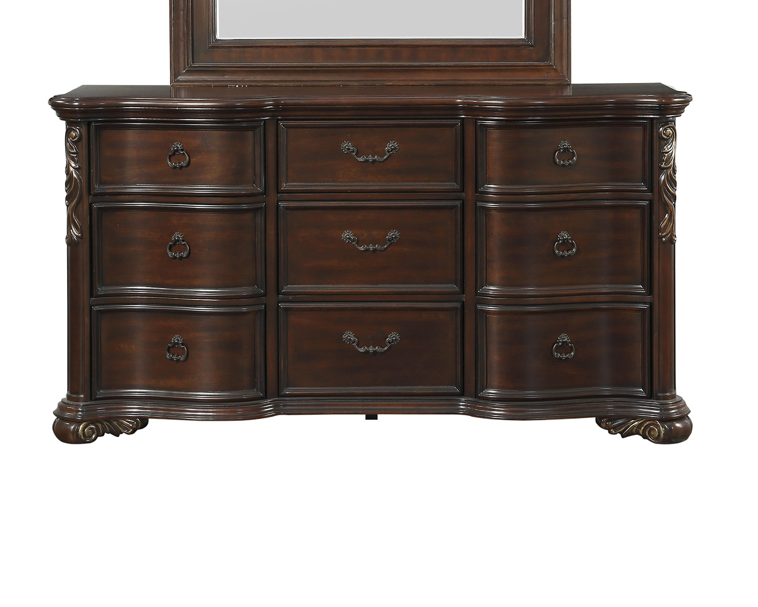 Homelegance Royal Highlands Dresser - Rich Cherry