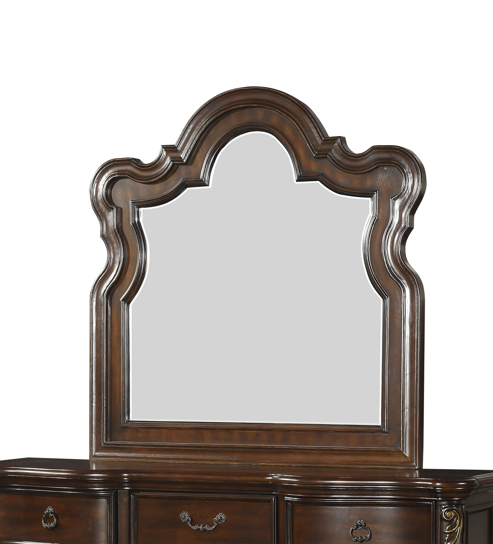 Homelegance Royal Highlands Mirror - Rich Cherry