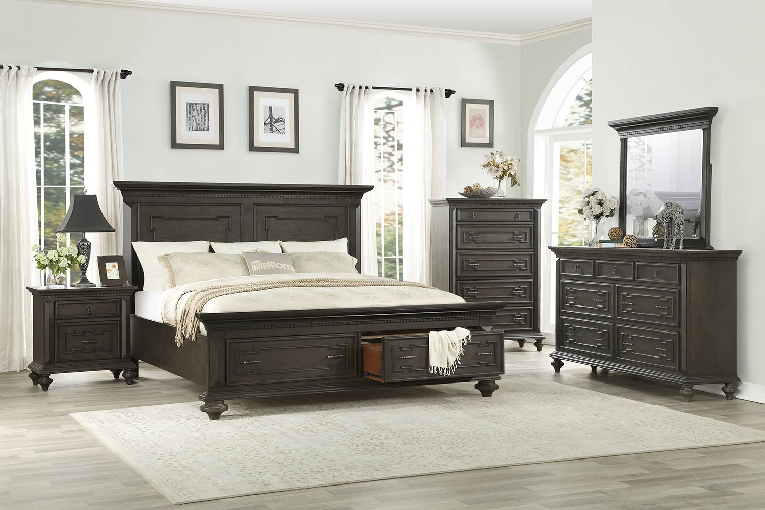 Homelegance Hillridge Platform Bedroom Set