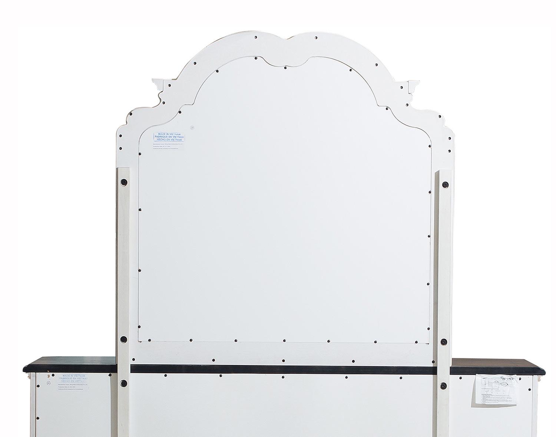 Homelegance Willowick Mirror - Antique White