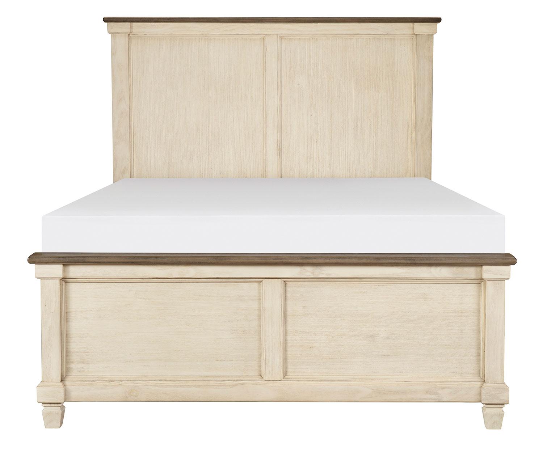 Homelegance Weaver Bed - Antique White