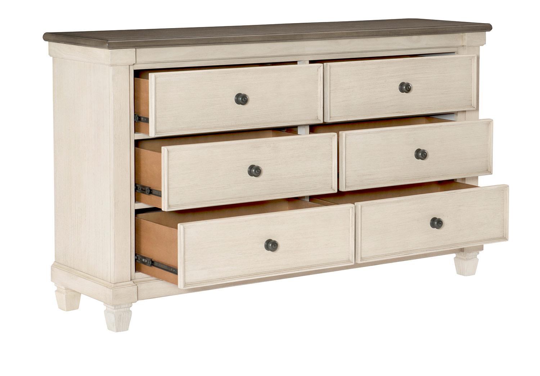 Homelegance Weaver Dresser - Antique White