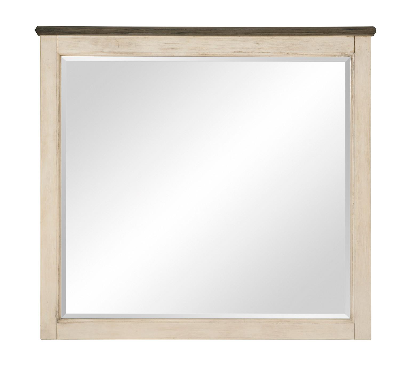 Homelegance Weaver Mirror - Antique White