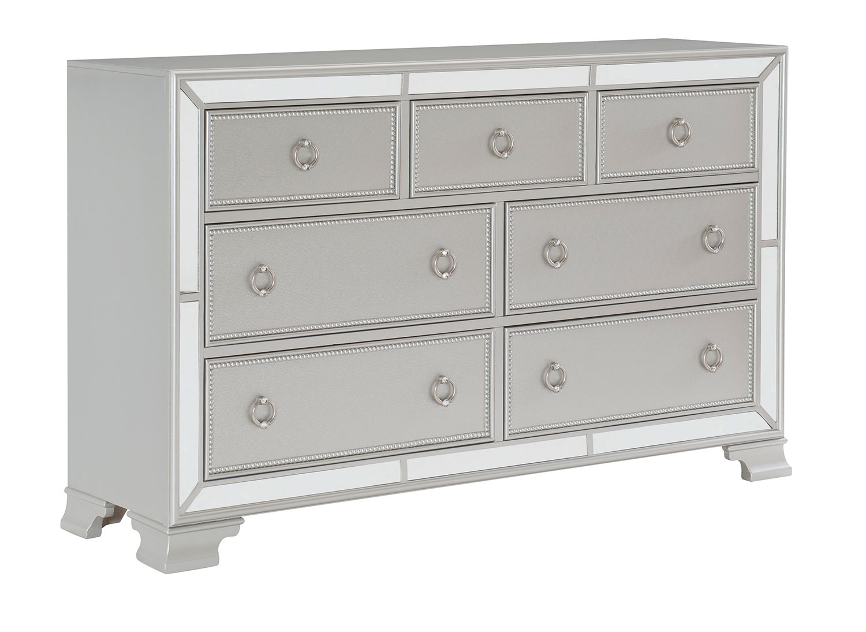 Homelegance Avondale Dresser - Silver