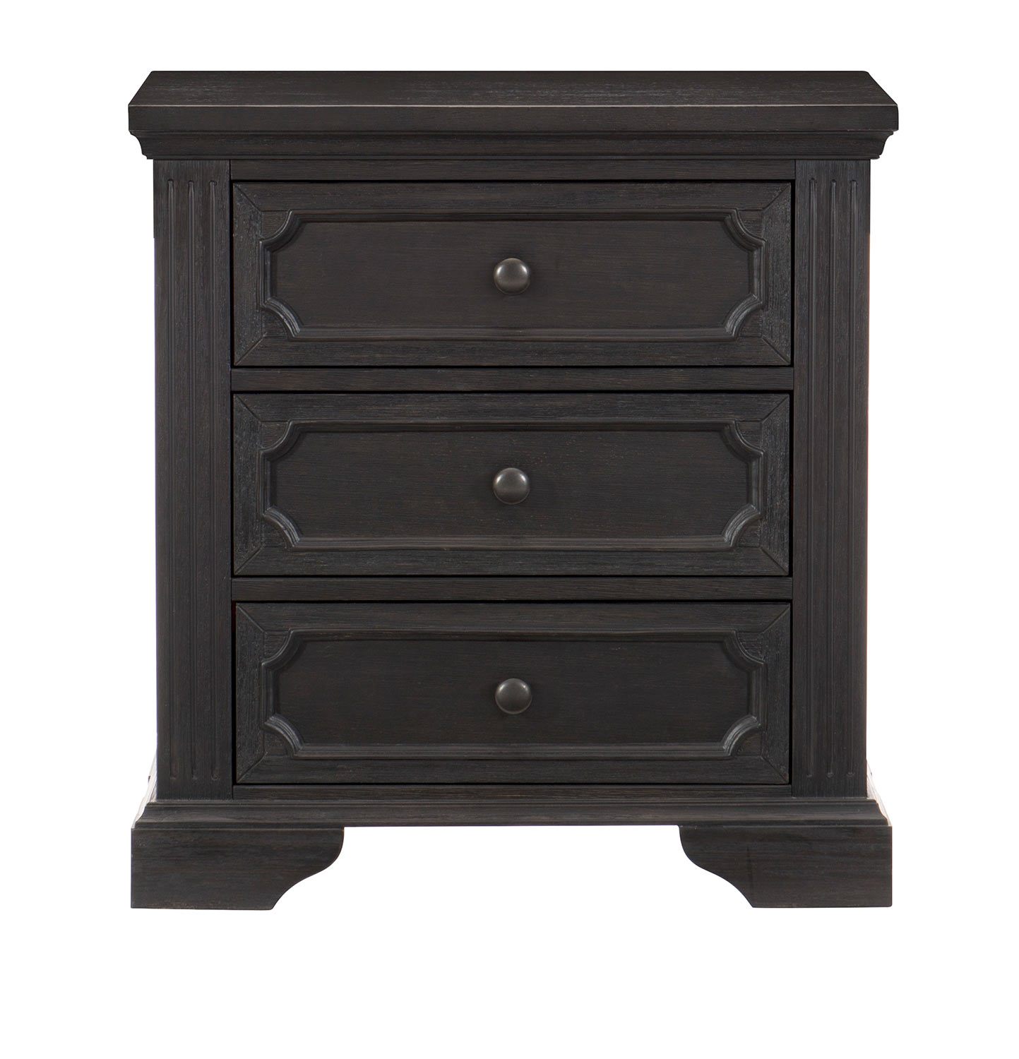 Homelegance Bolingbrook Night Stand - Charcoal