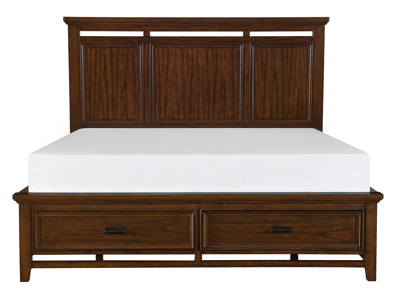 Homelegance Frazier Park Bed - Brown Cherry