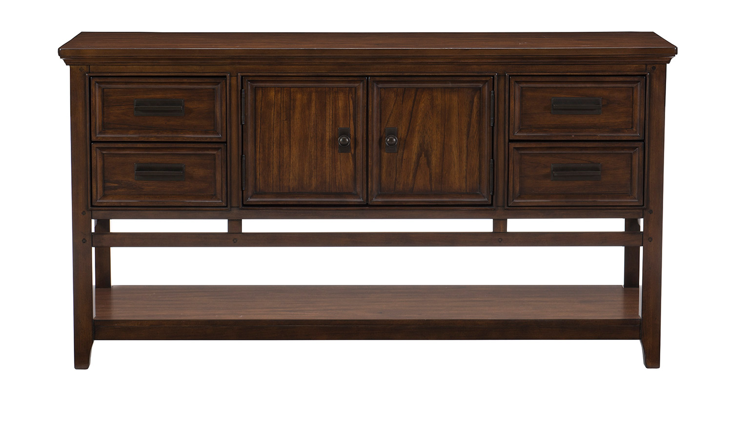 Homelegance Frazier Server - Brown Cherry