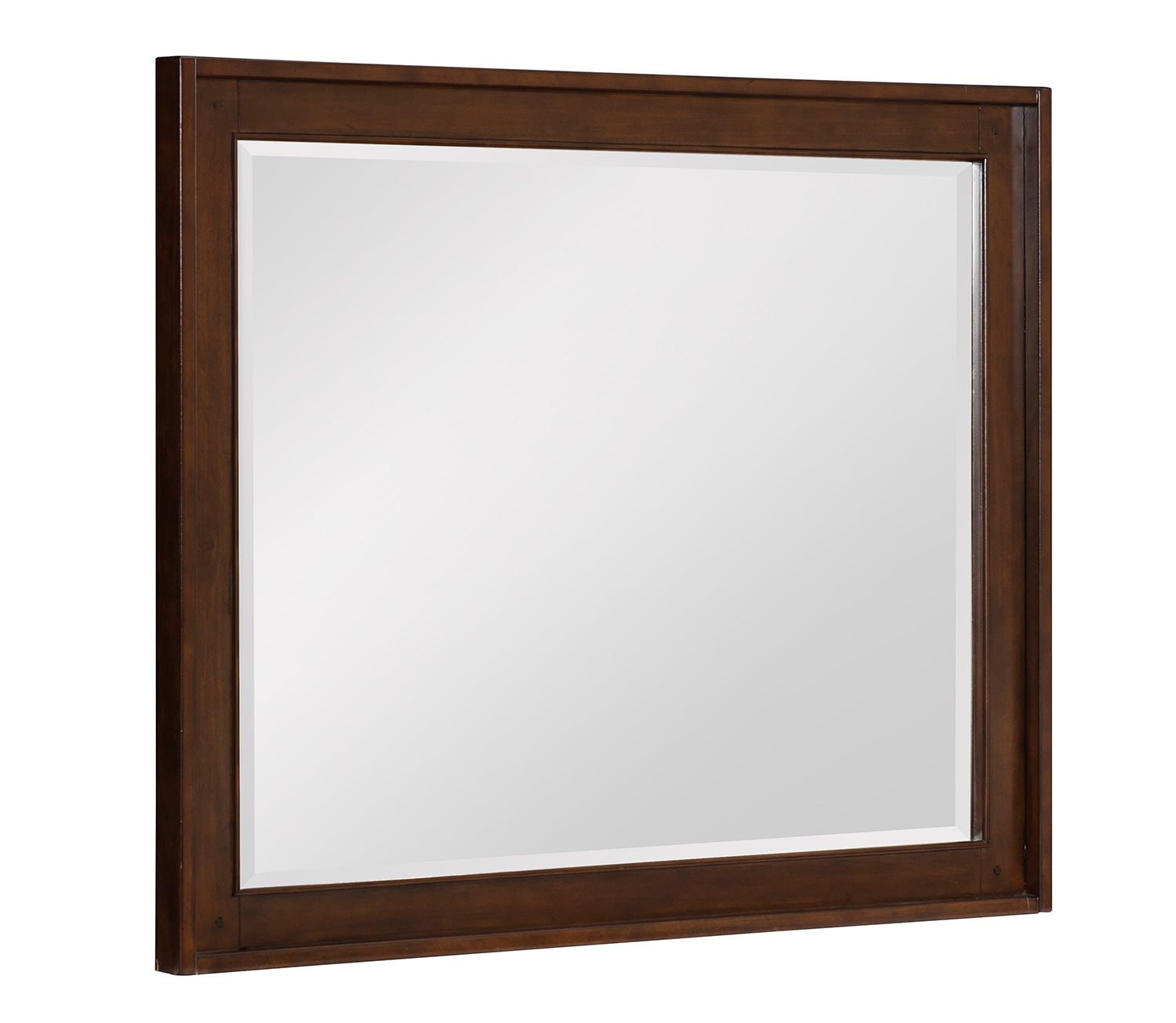 Homelegance Frazier Park Mirror - Brown Cherry