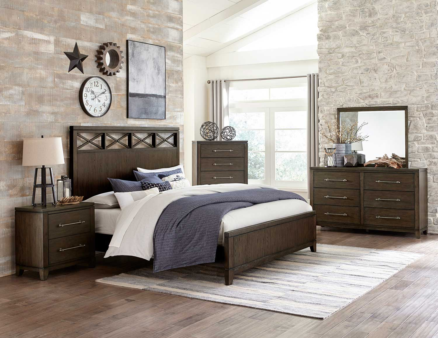 Homelegance Griggs Bedroom Set - Espresso