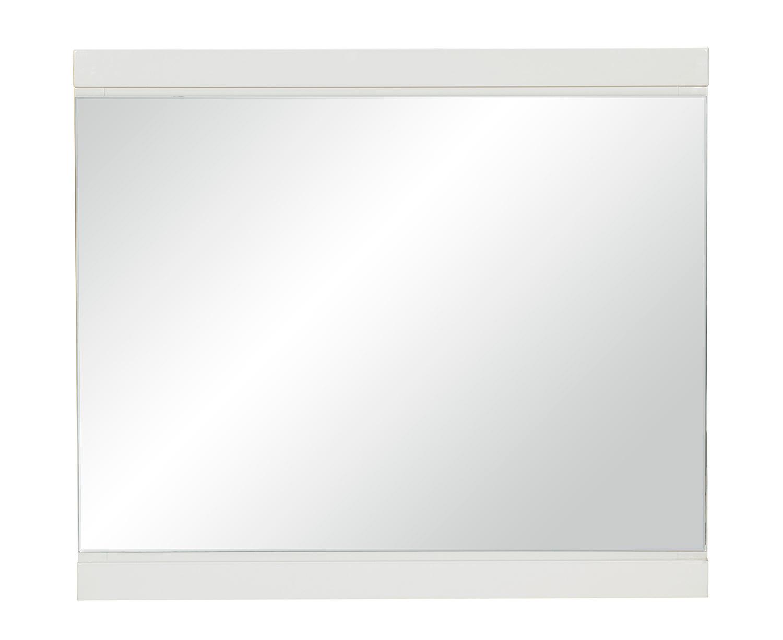 Homelegance Kerren or Keren Mirror - White High Gloss