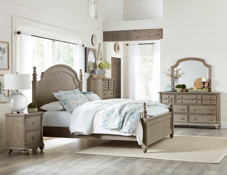 Homelegance Grayling Downs Bedroom Set - Driftwood Gray