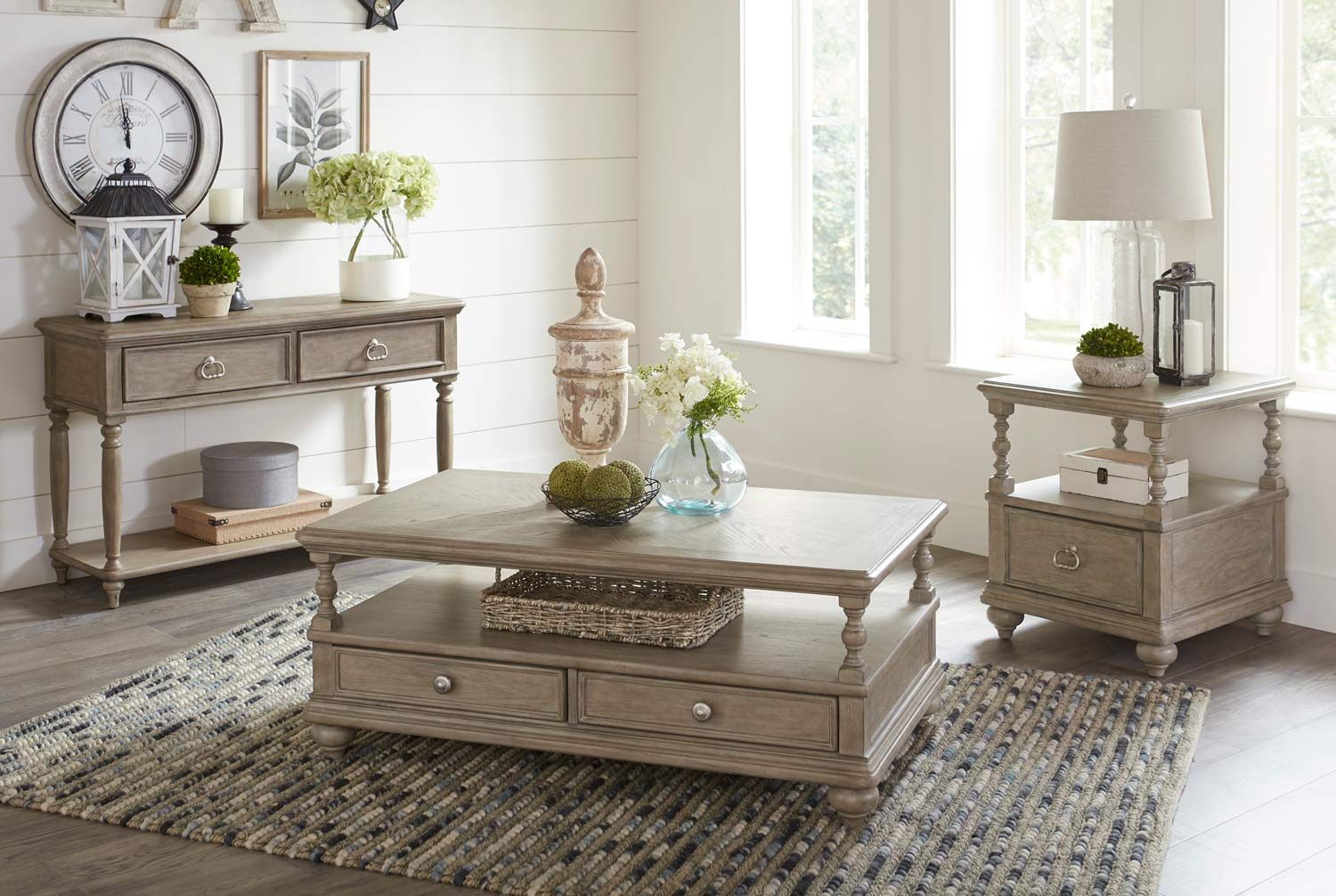 Homelegance Grayling Down Collection - Driftwood Gray