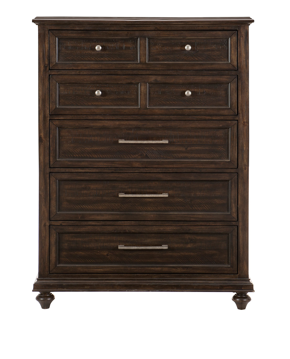 Homelegance Cardano Chest - Driftwood Charcoal over Acacia Solids and Veneers