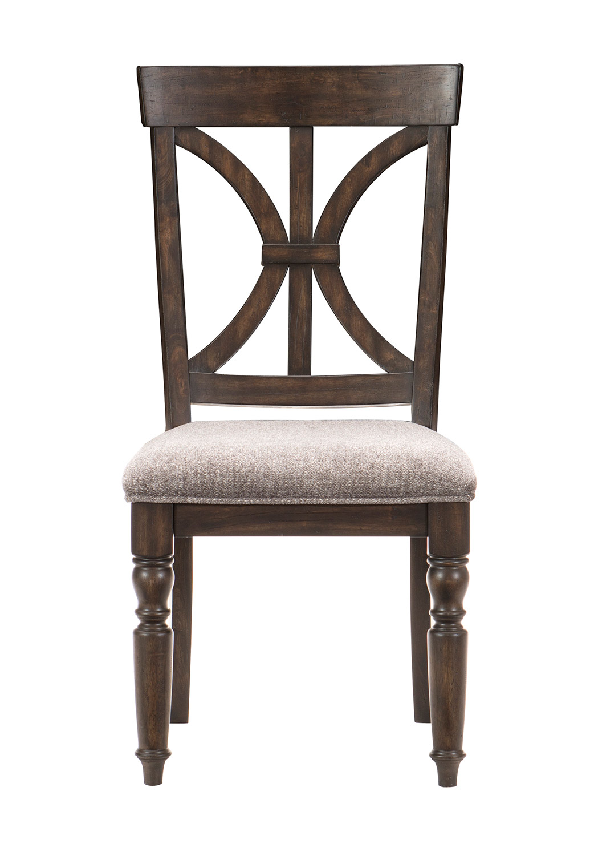 Homelegance Cardano Side Chair - Driftwood Charcoal