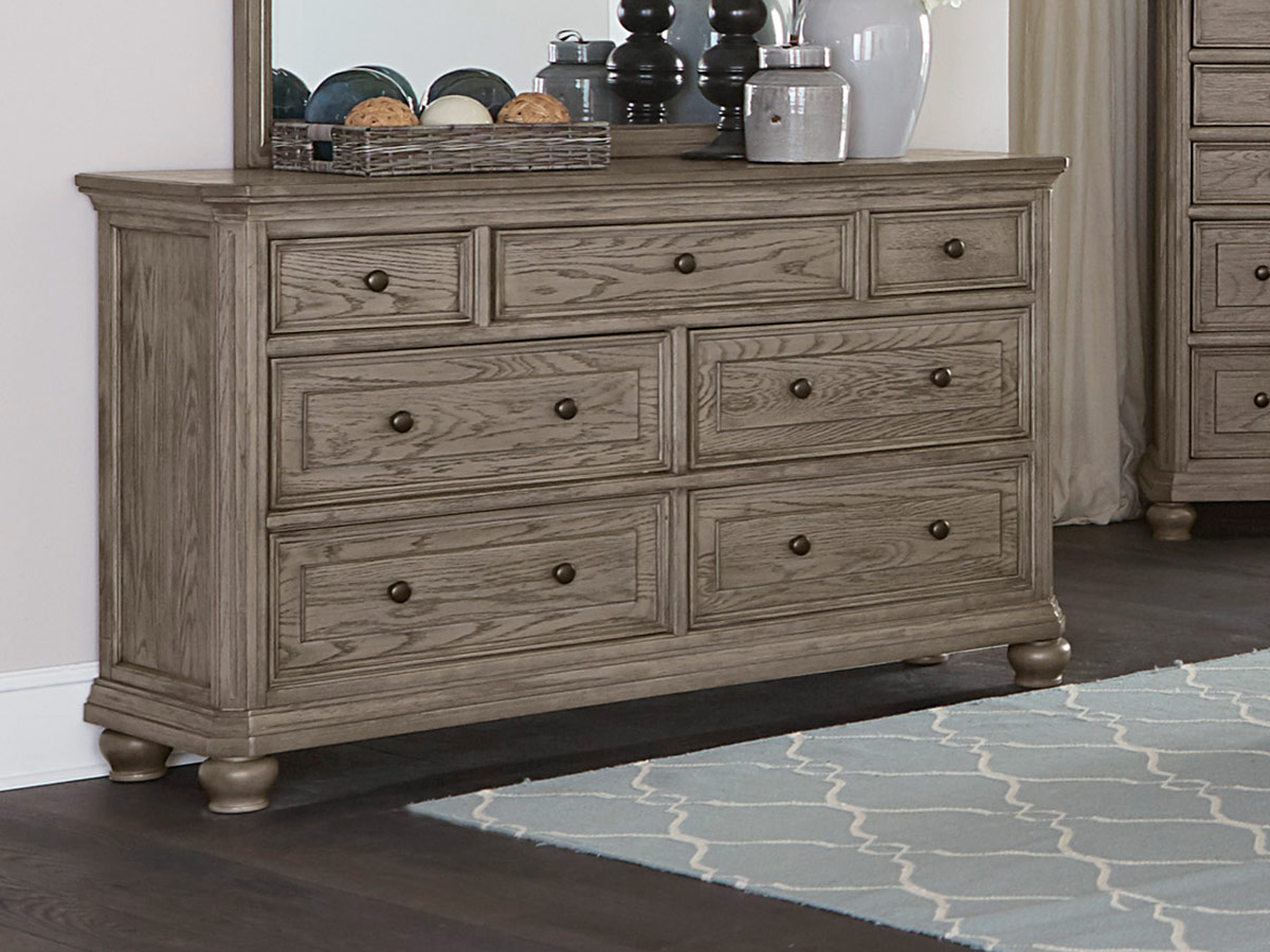 Homelegance Lavonia Dresser - Wire-Brushed