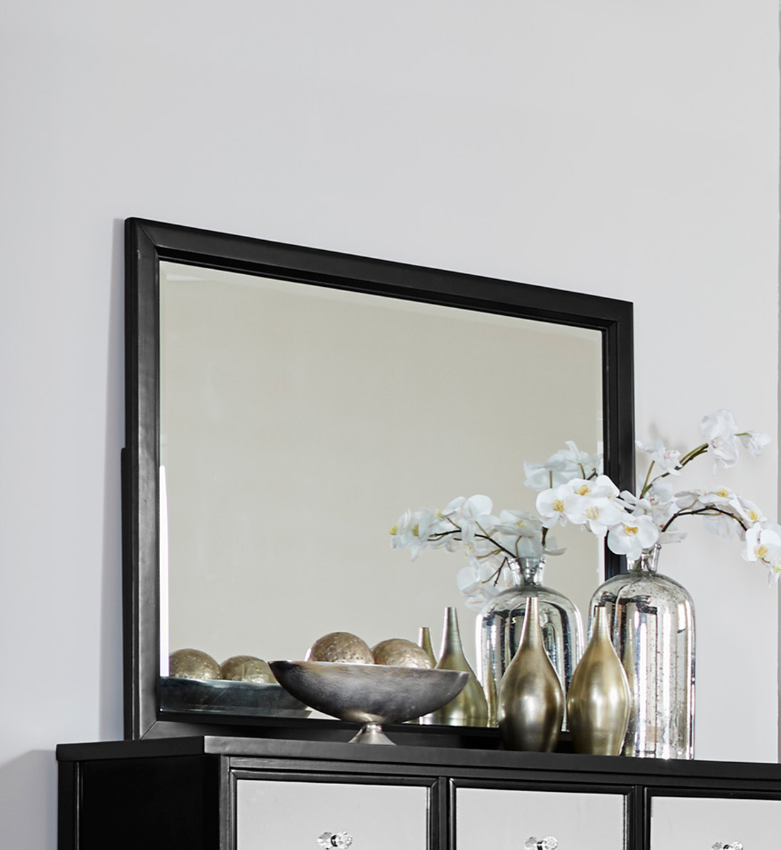 Homelegance Odelia Mirror - Black