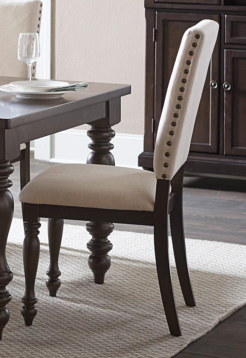 Homelegance Begonia Side Chair - Grey