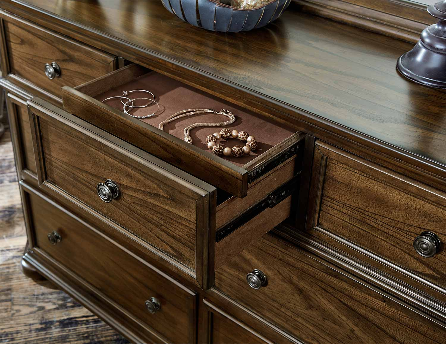 Homelegance Langsat Dresser - Brown