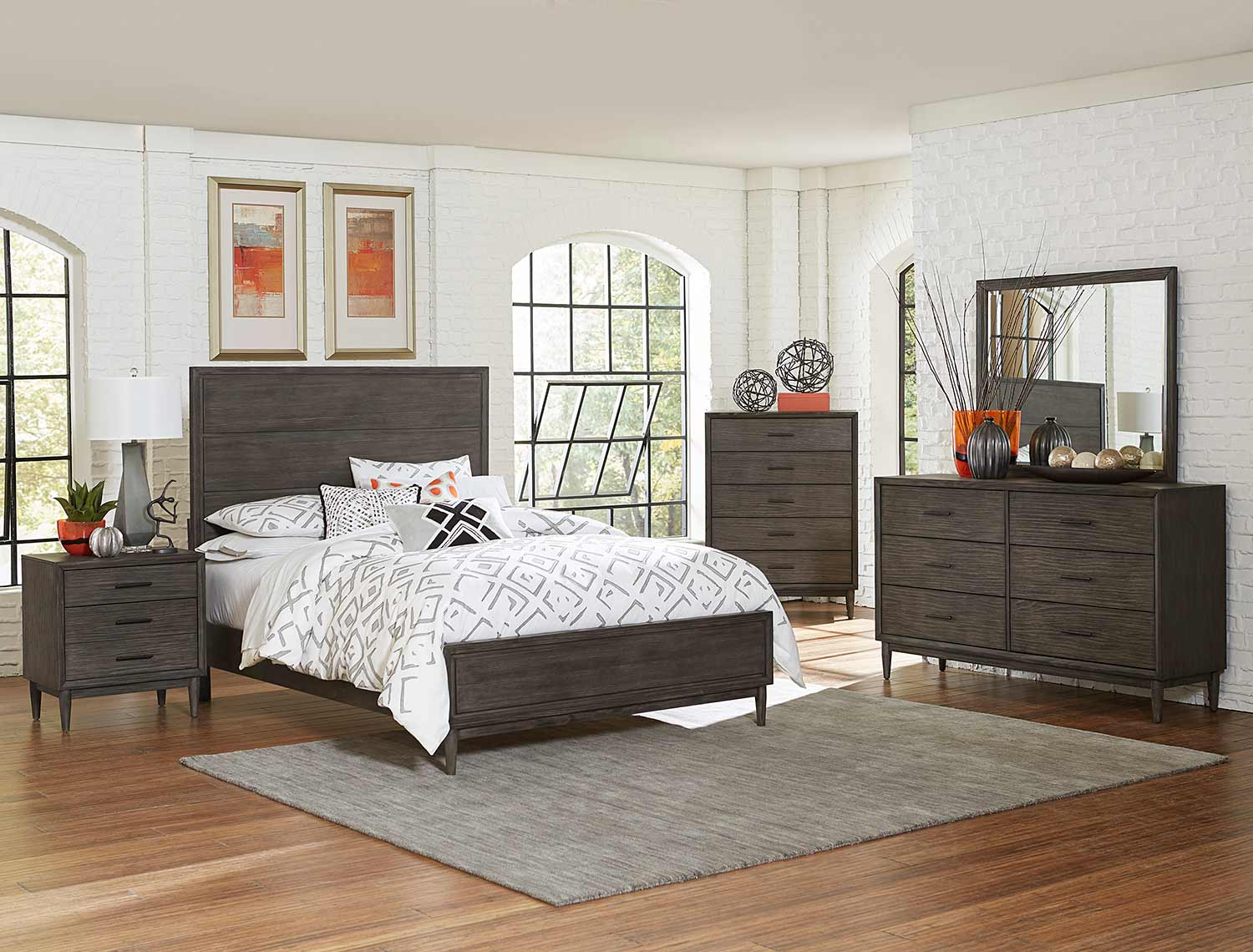 Homelegance Norhill Bedroom Set - Gray