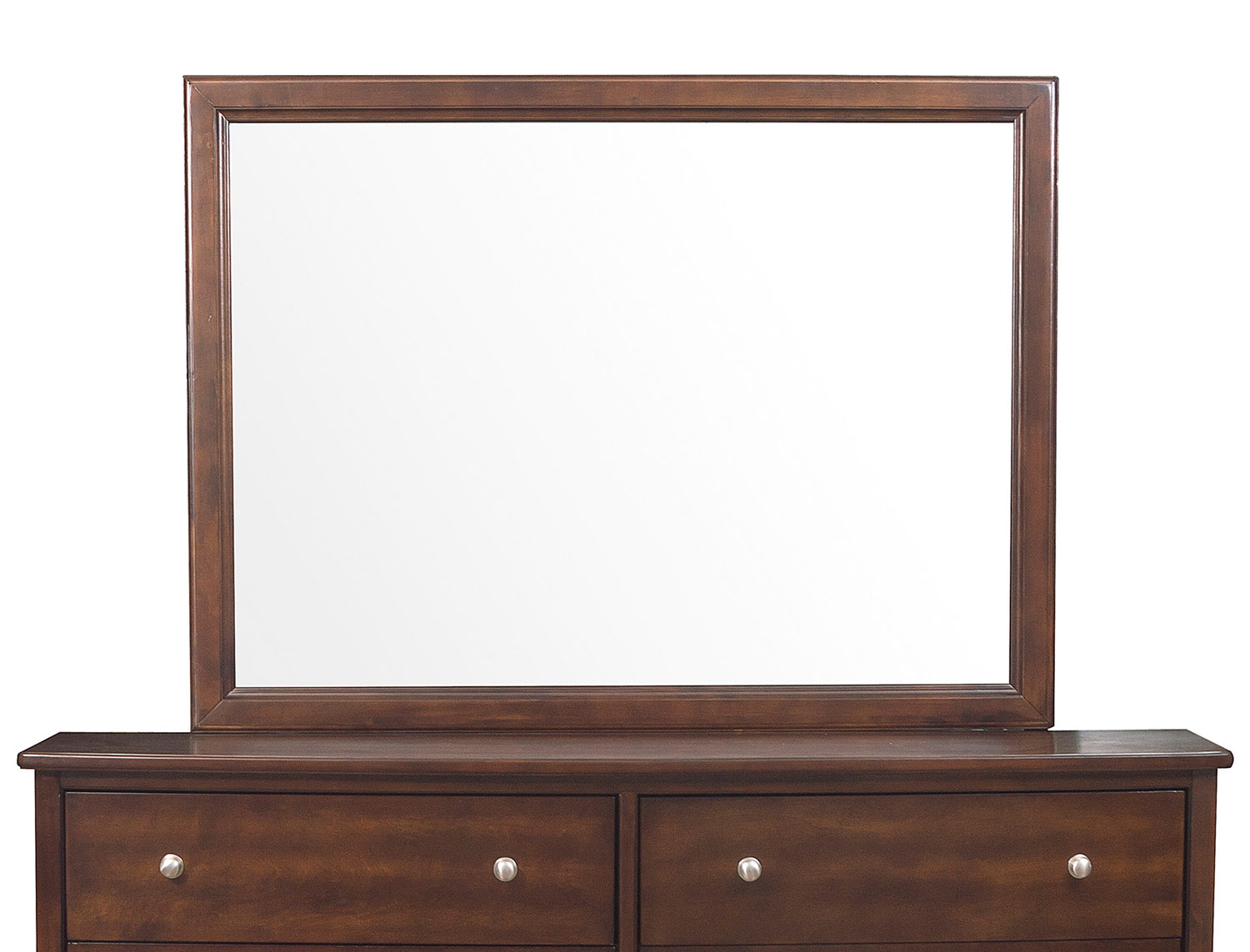 Homelegance Cotterill Mirror - Cherry over Birch Veneer