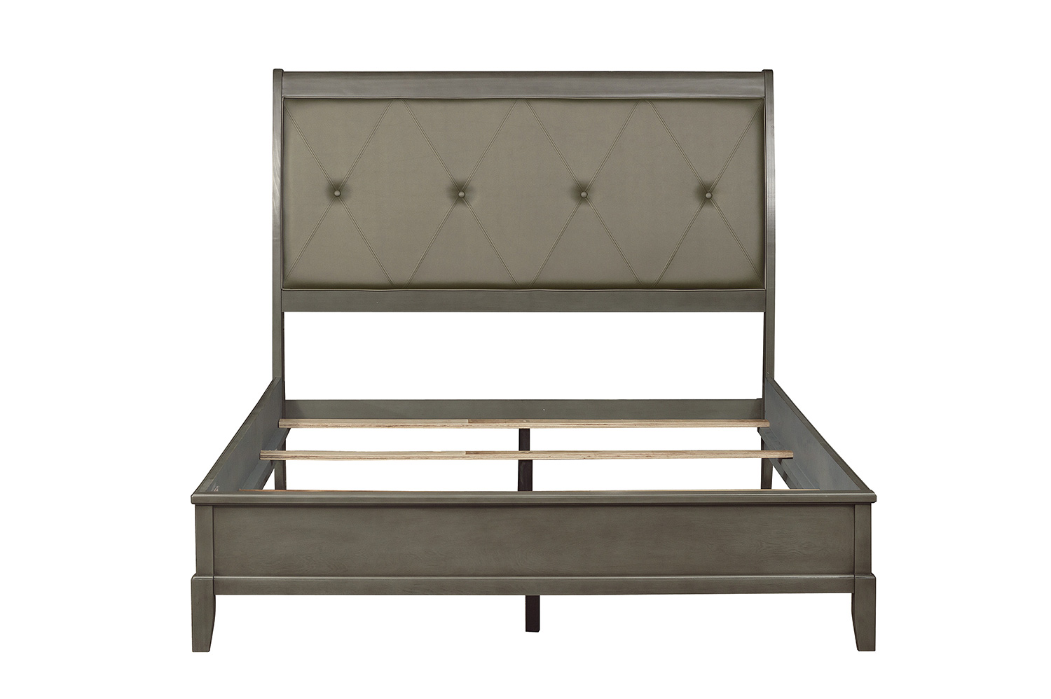 Homelegance Cotterill Bed - Gray Finish over Birch Veneer
