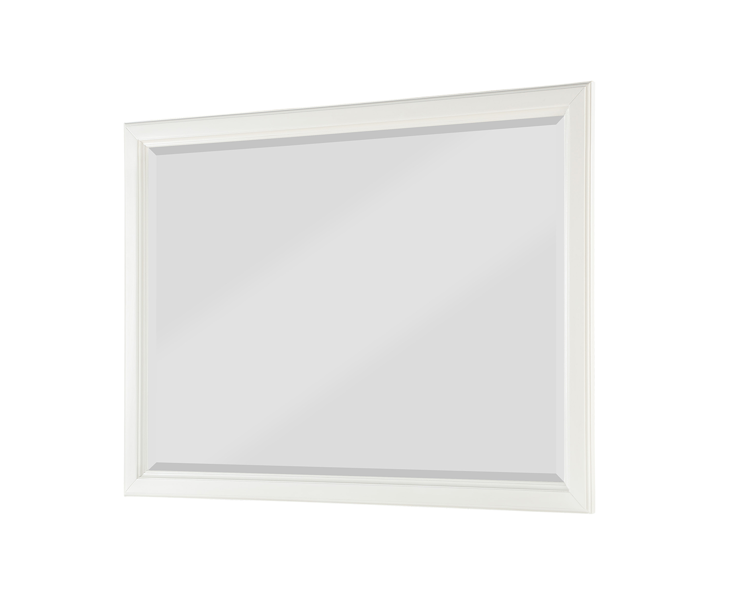 Homelegance Cotterill Mirror - White Finish over Birch Veneer
