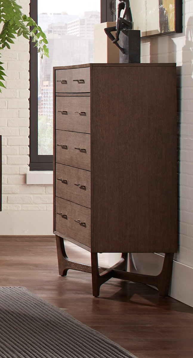 Homelegance Ruote Chest - Brown-Gray