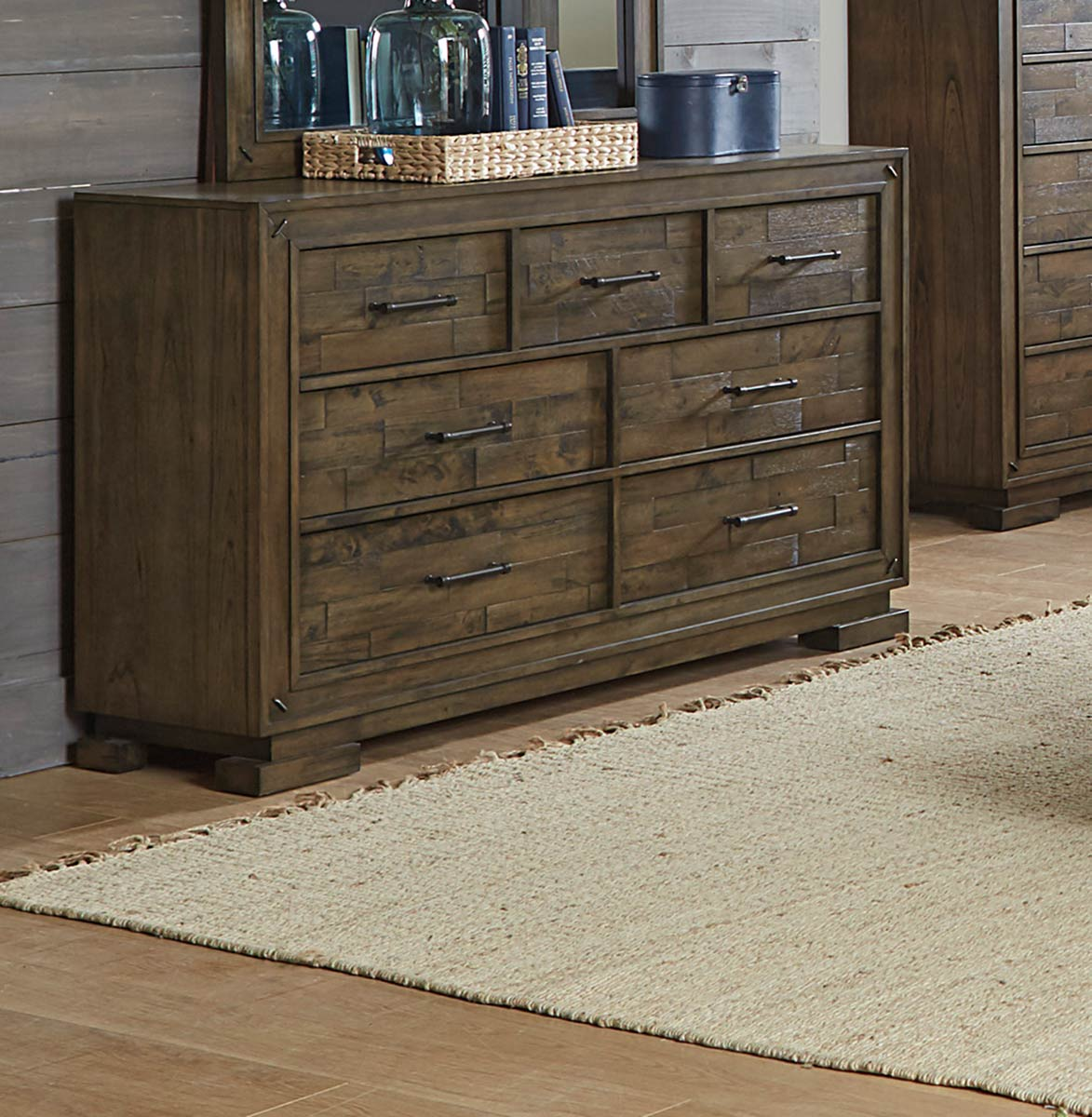 Homelegance Griffon Dresser - Antique Brown