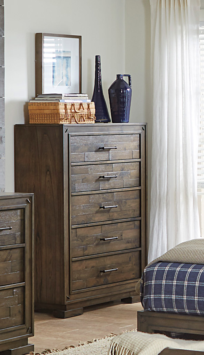 Homelegance Griffon Chest - Antique Brown
