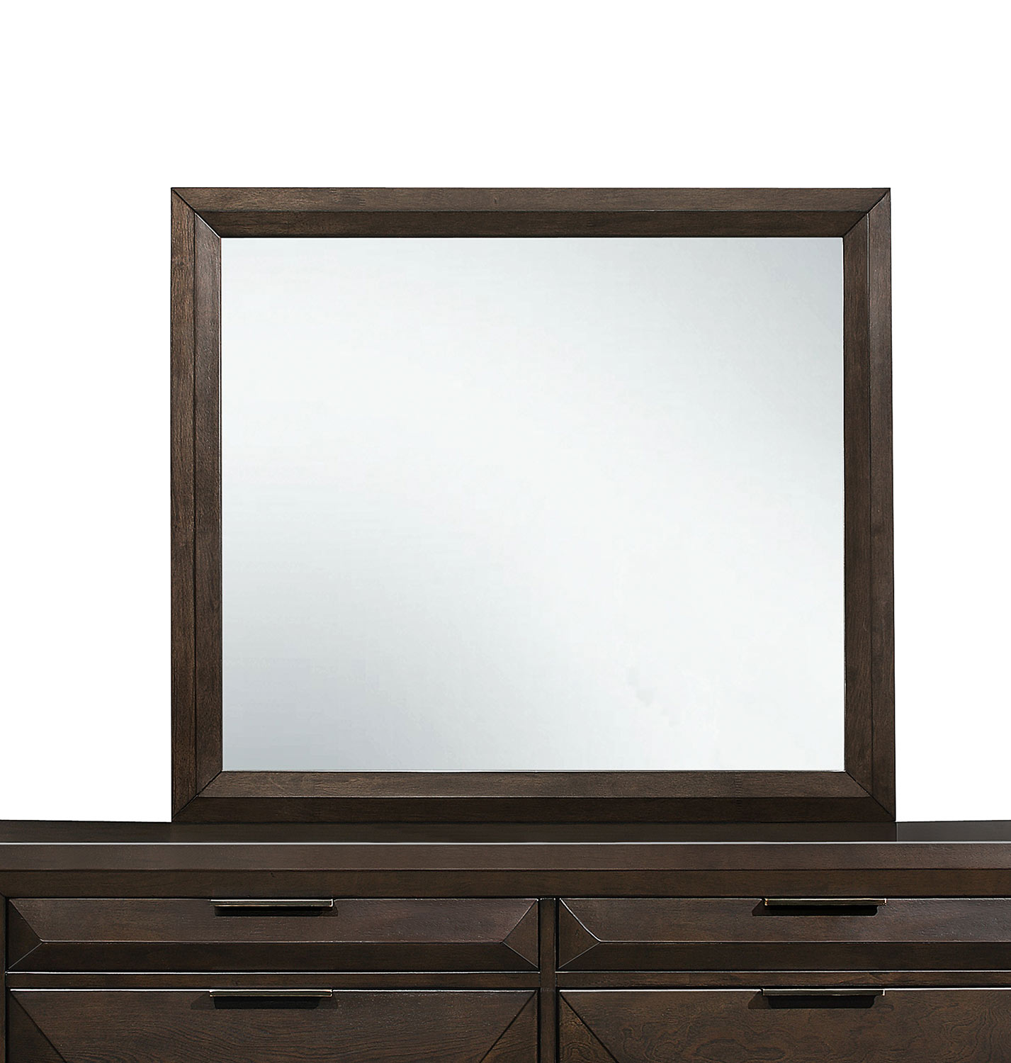 Homelegance Chesky Mirror - Warm Espresso