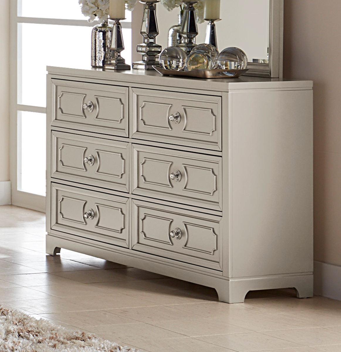Homelegance Libretto Dresser - Silver