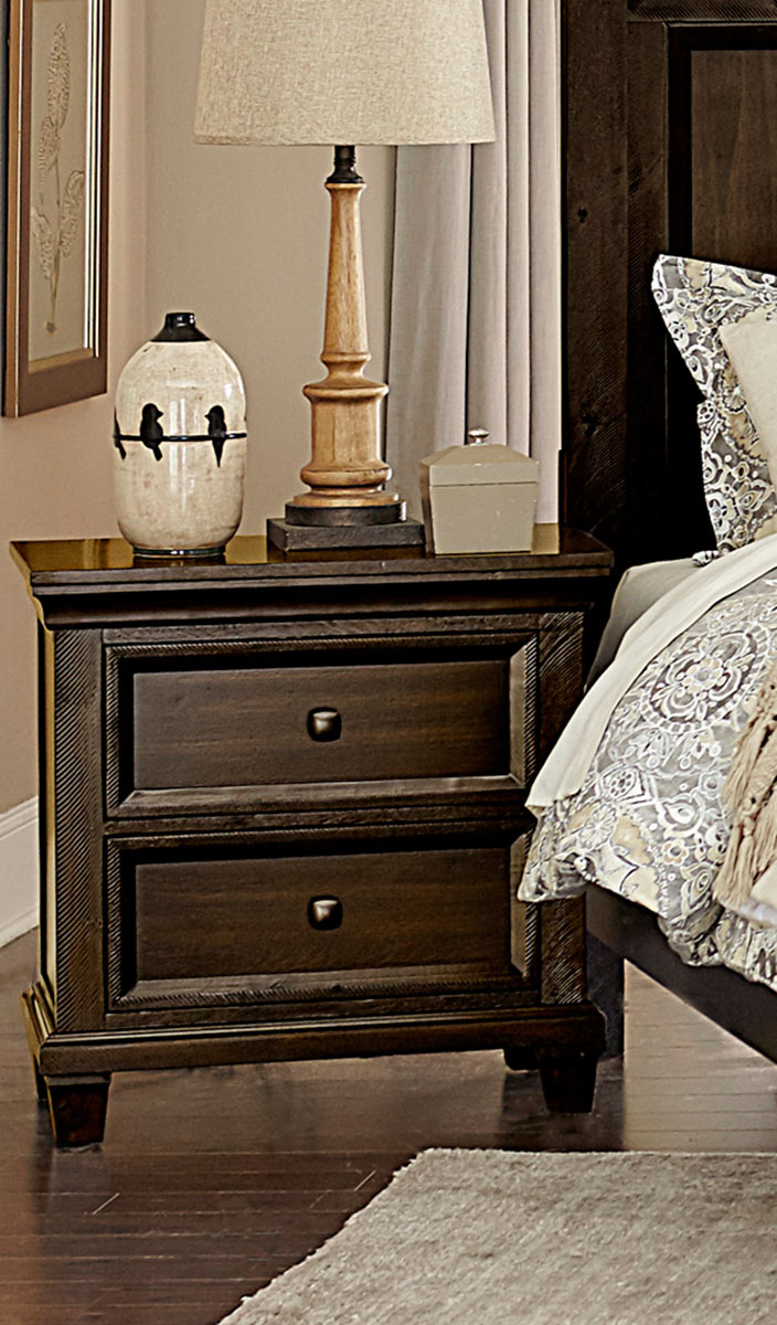 Homelegance Birman Night Stand - Dark Espresso