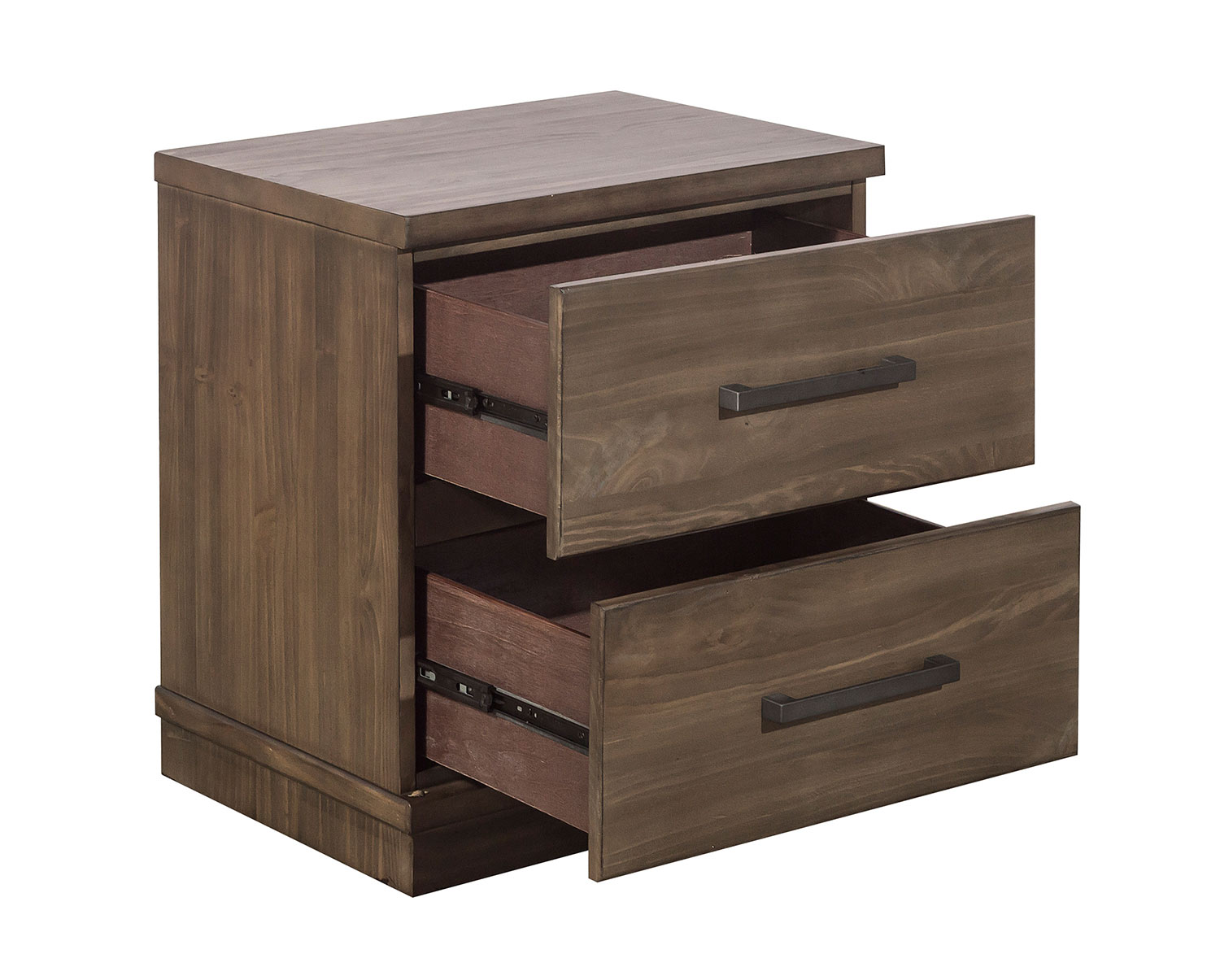 Homelegance Bracco Night Stand - Brown