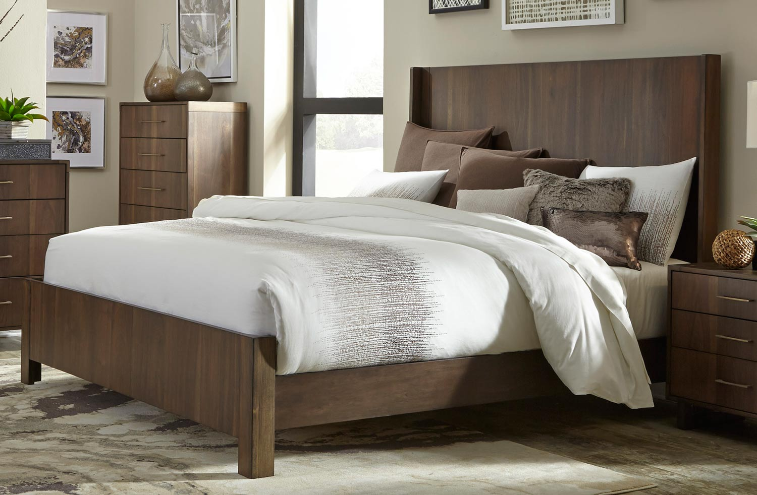 Homelegance Gulfton Bed - Walnut