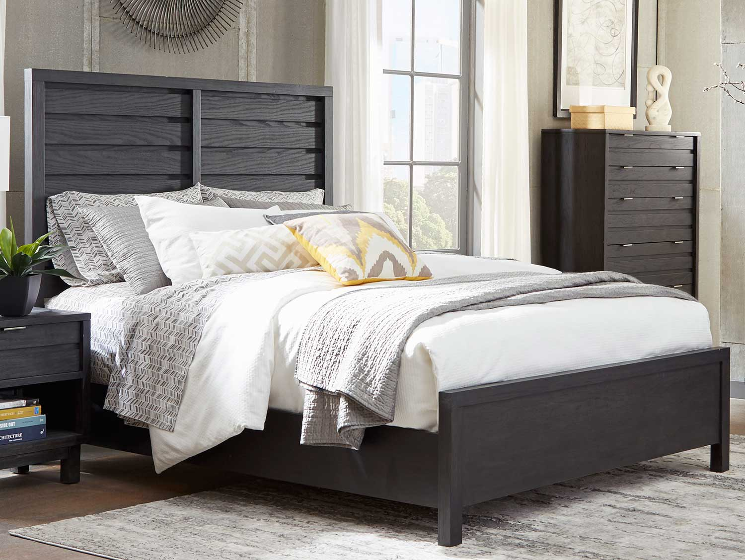 Homelegance Robindell Bed - Ebony