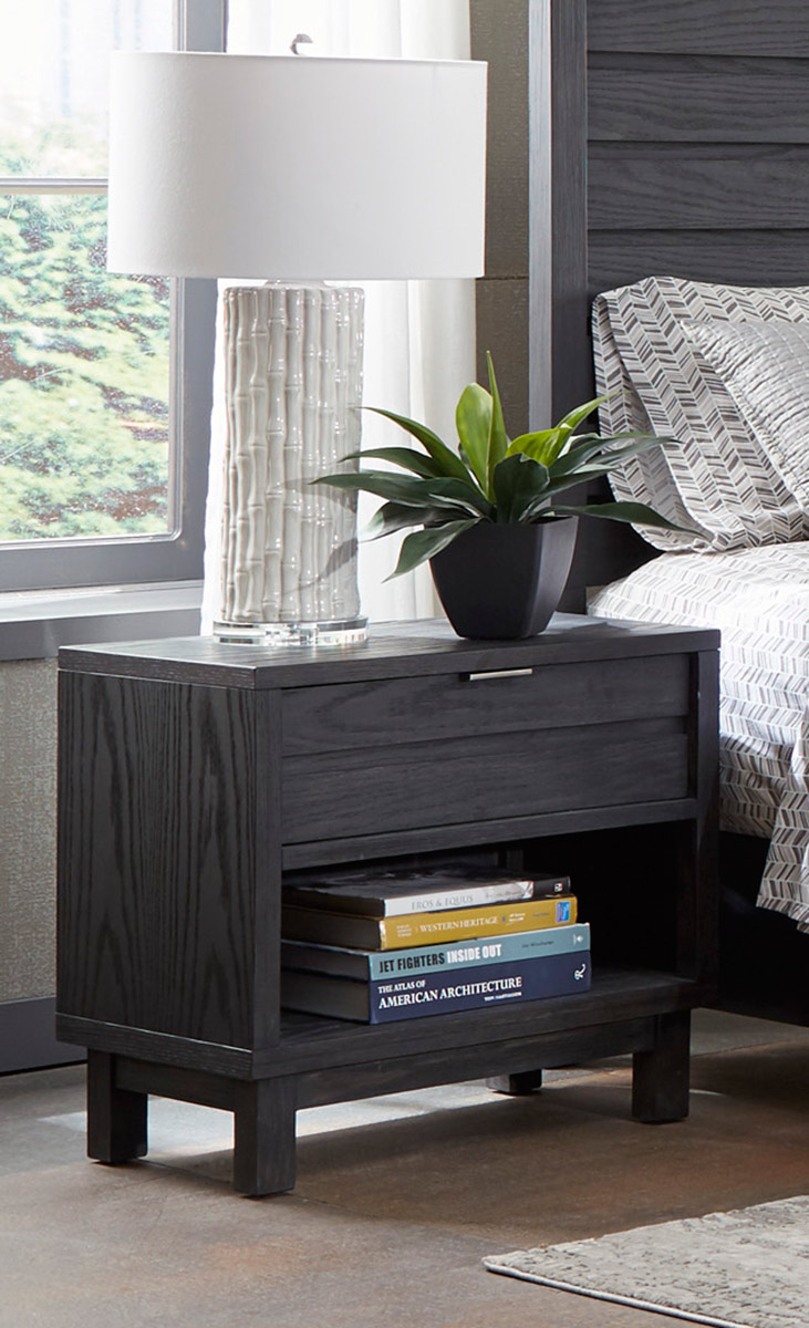 Homelegance Robindell Night Stand - Ebony