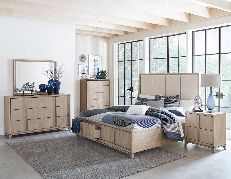 Homelegance McKewen Bedroom Set - Light Gray