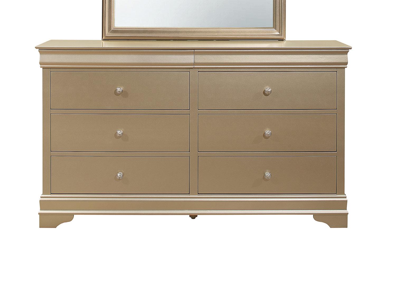 Homelegance Abbeville Dresser - Gold