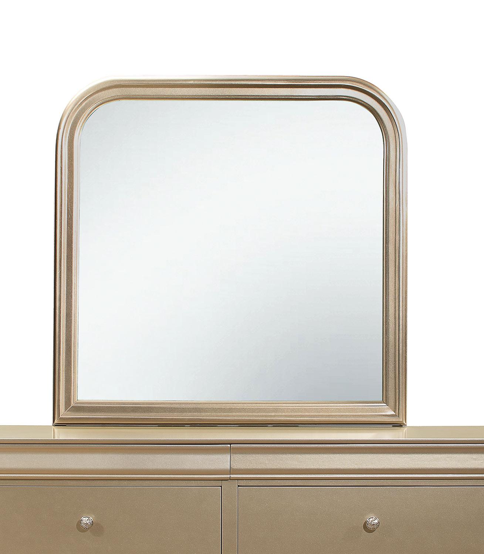 Homelegance Abbeville Mirror - Gold