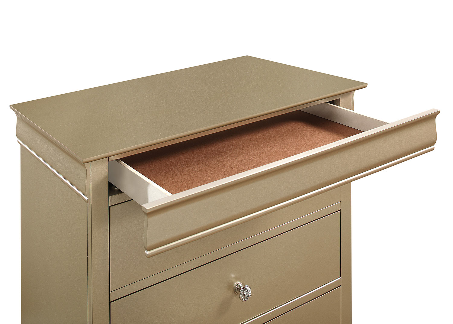 Homelegance Abbeville Chest - Gold